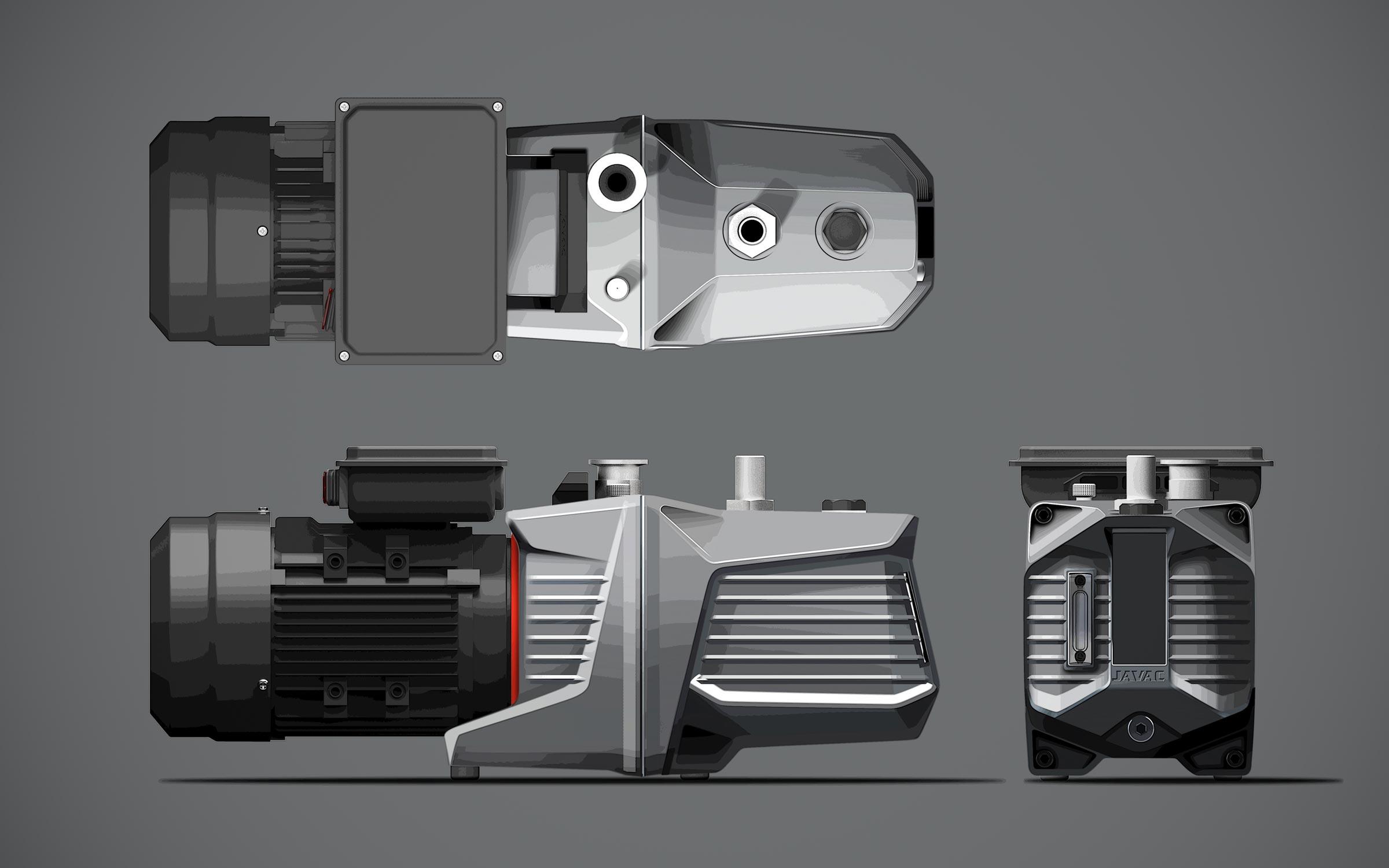 Concept refinement sketch