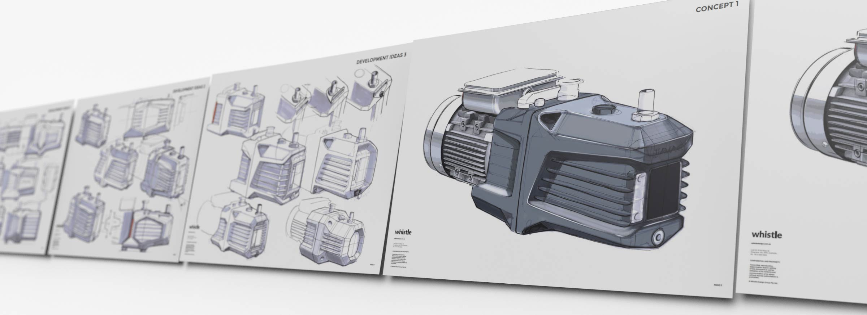 Aluminium casting design concept