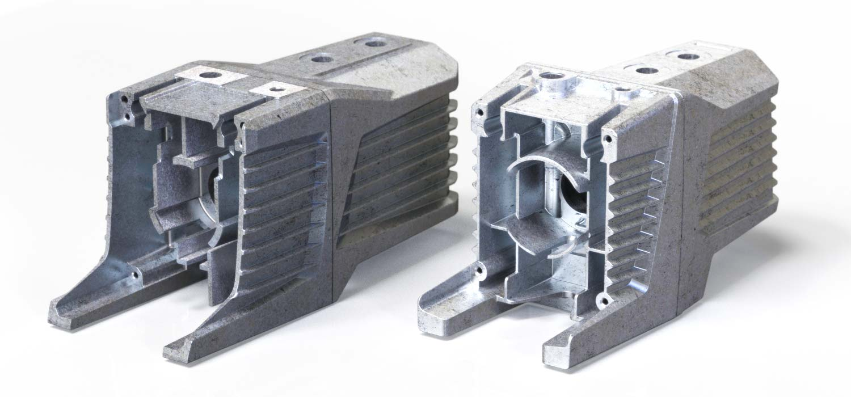 Vacuum Pump aluminium casting design