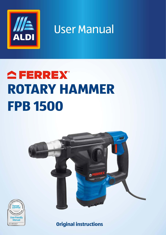 Ferrex Aldi Catalogue
