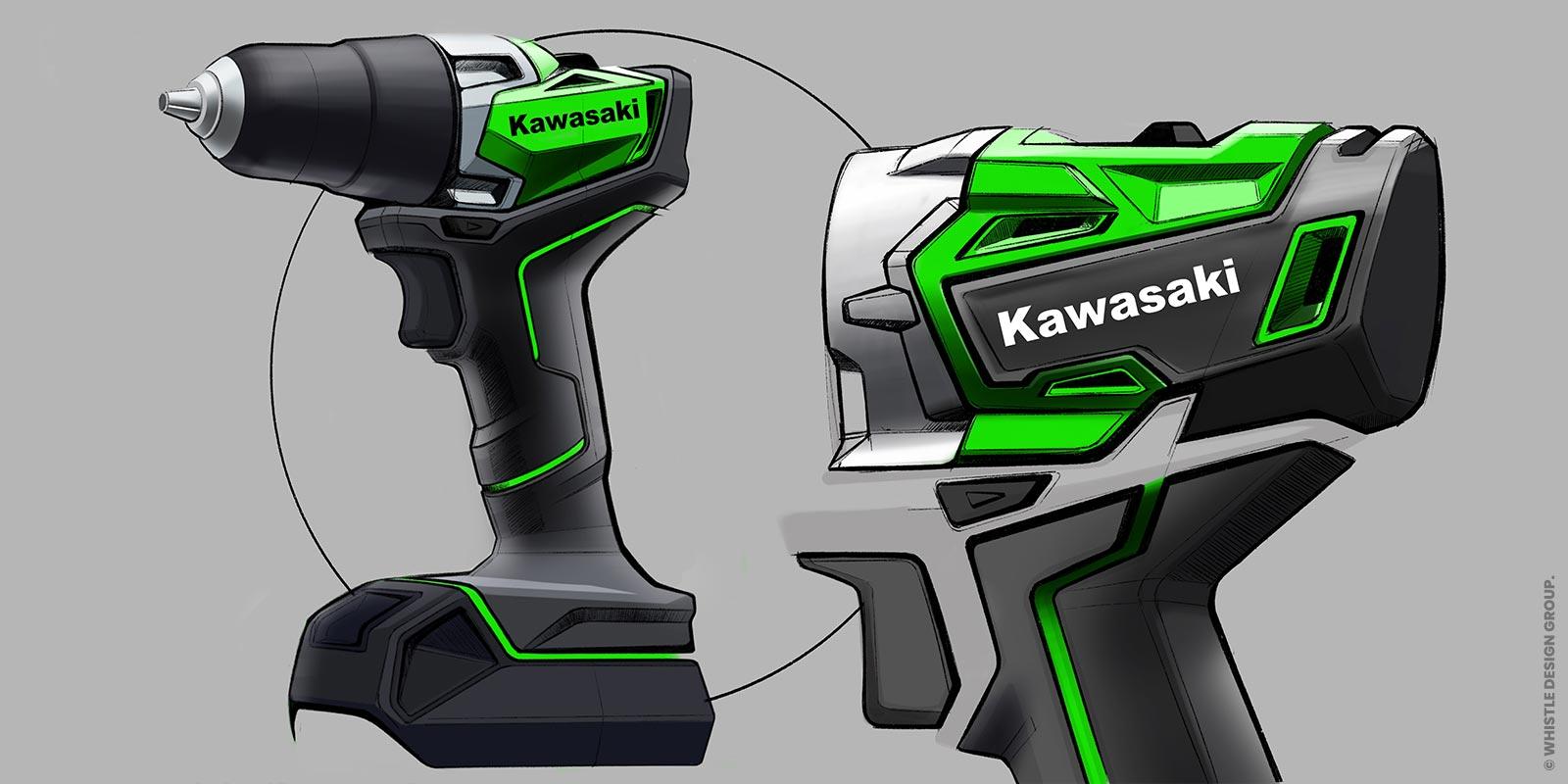 KAWASAKI DRILL DESIGN SKETCH 3
